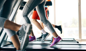 Picture of people running on treadmill in gym