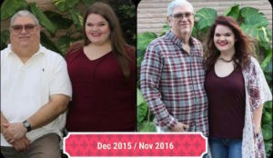 John and Sydney Before and After Weight Loss Surgery
