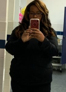 Alesha's weight loss transformation