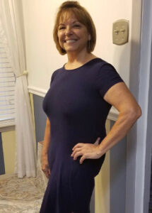 Catherine's weight loss transformation