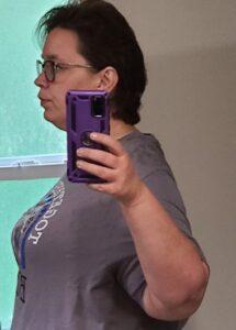 Farah's weight loss transformation